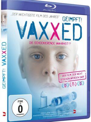 VAXXED + 3 Gratis-Aufkleber + Versand in D ohne Mindestbestellwert! - VAXXED Blu-ray