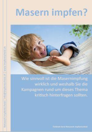 Faltblatt Masern